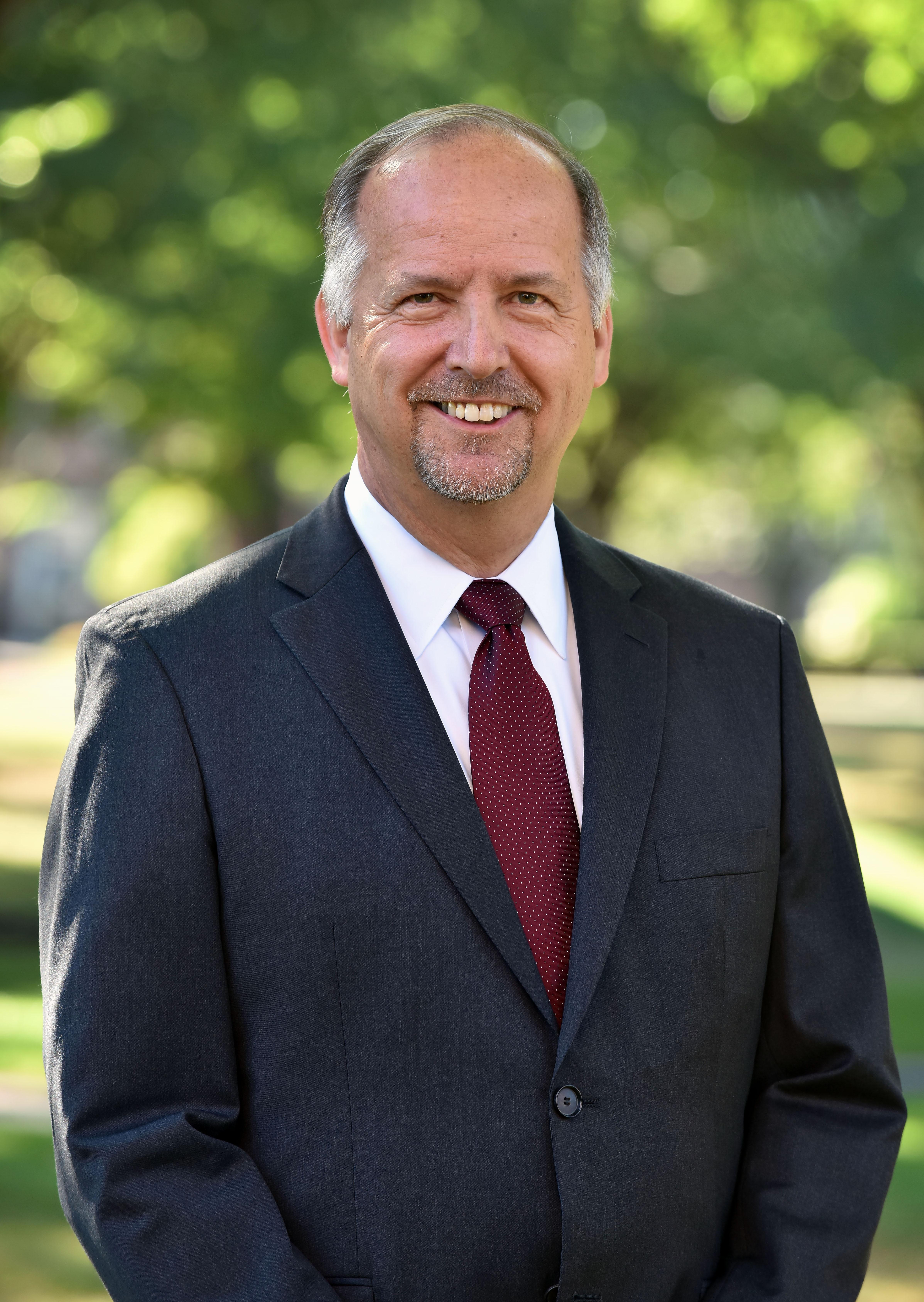 Dennis Hanno, president of Wheaton College