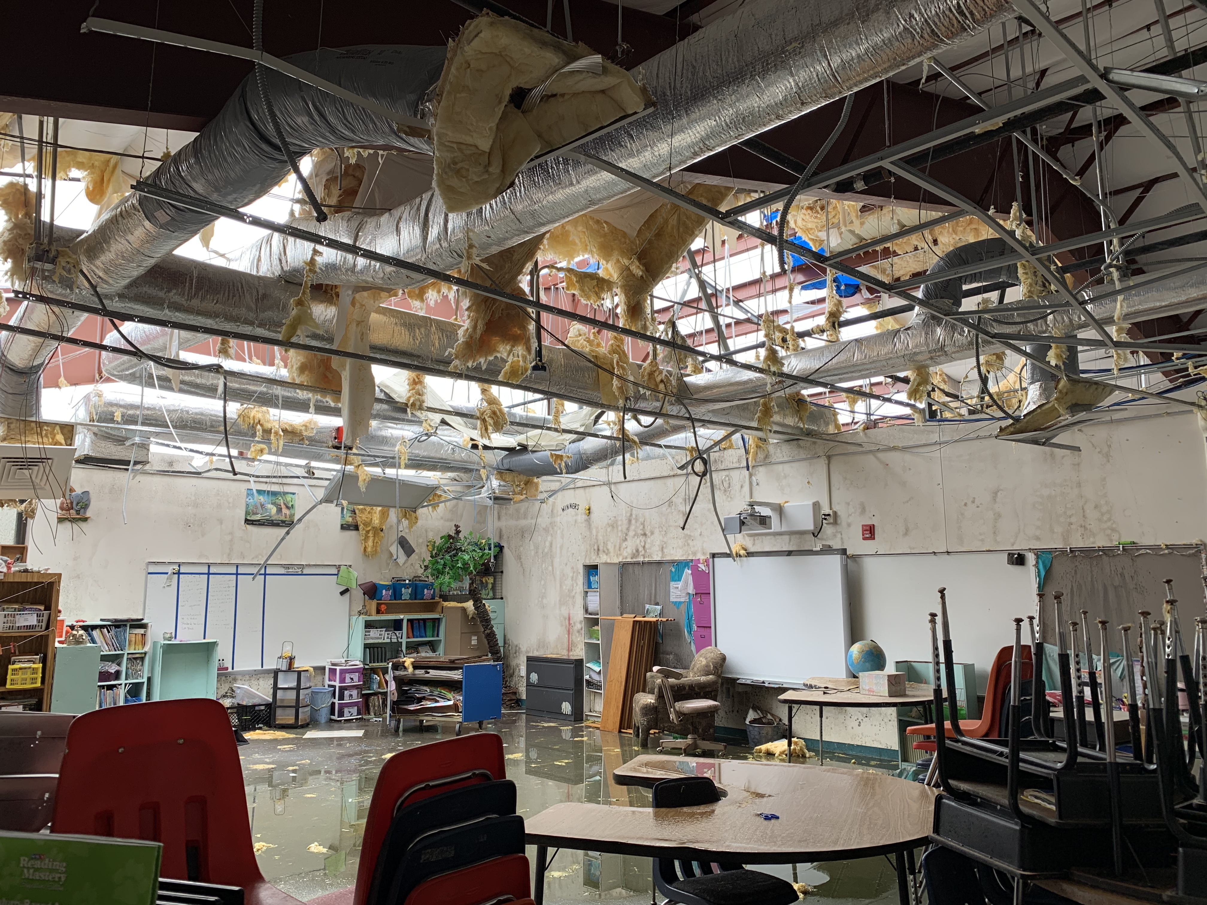 Principals who lost schools in Hurricane Michael assume new roles in devastated district