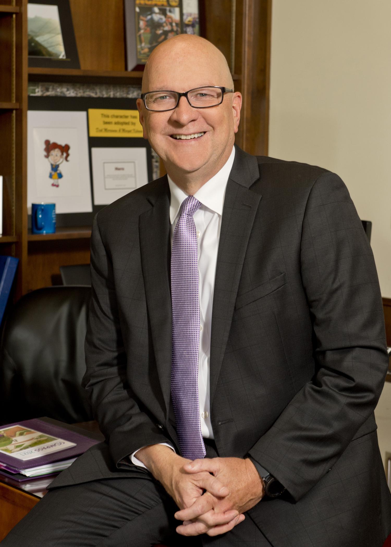 Richard Merriman Jr. is the former president of the University of Mount Union.
