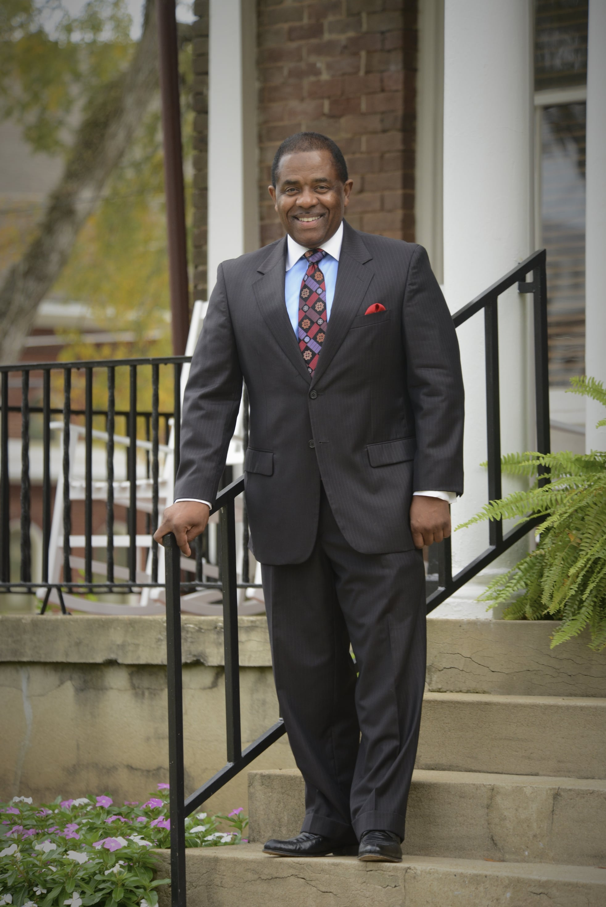 Billy Hawkins, president of Talladega College