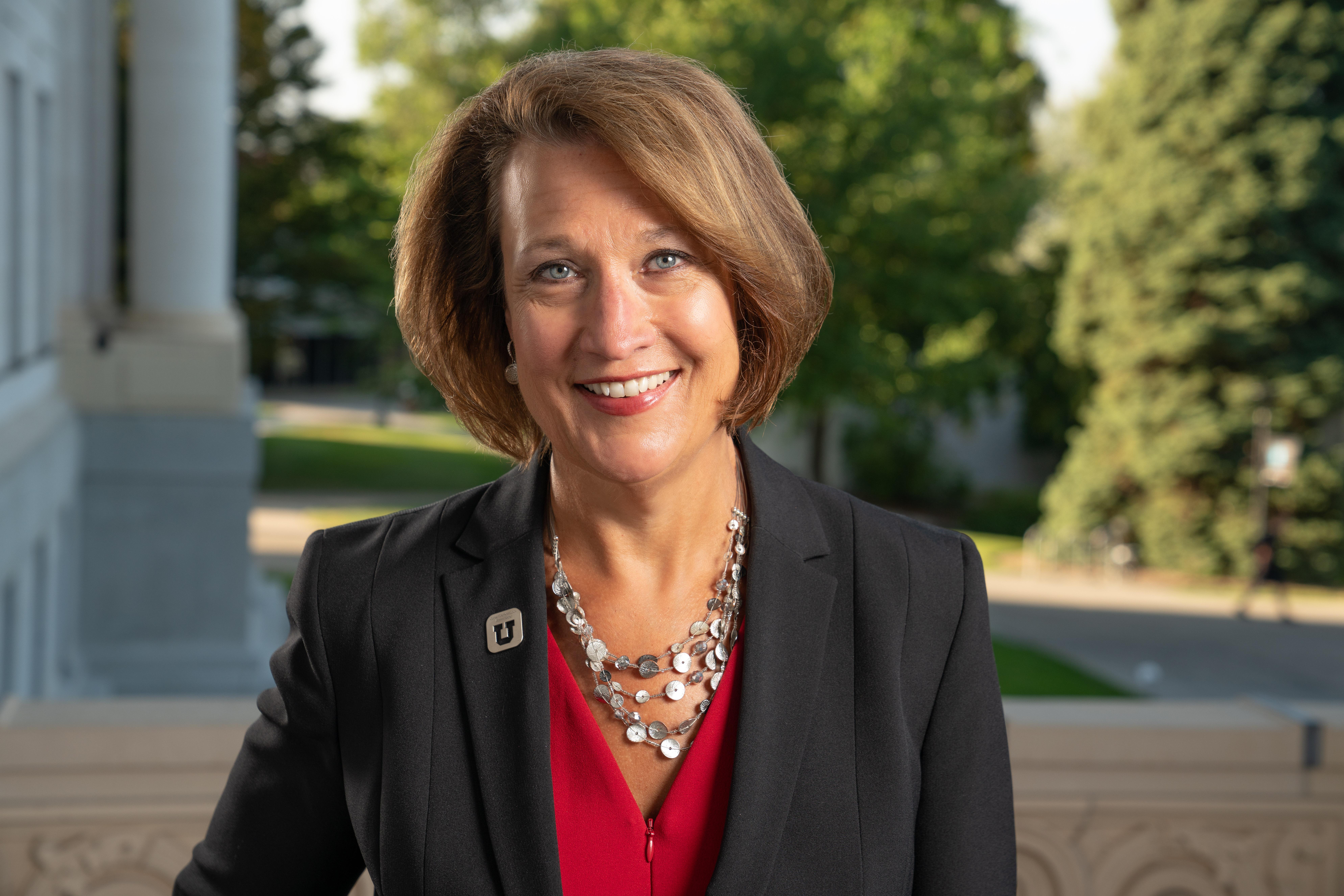 Ruth Watkins is the president of the University of Utah